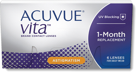 ACUVUE<sup>®</sup> VITA<sup>®</sup> for ASTIGMATISM - Reviews