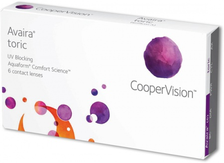 Avaira Toric Contact Lenses from CooperVision