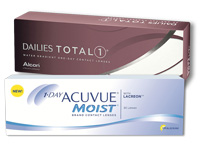 Acuvue Moist versus Dailies Total1