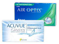 Acuvue Oasys for Astigmatism versus Air Optix for Astigmatism