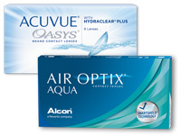 ACUVUE OASYS versus AIR OPTIX AQUA