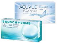 ACUVUE OASYS versus Bausch+Lomb ULTRA