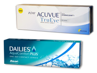 1-DAY ACUVUE TruEye versus DAILIES AquaComfort Plus