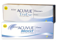 1-DAY ACUVUE TruEye versus Moist