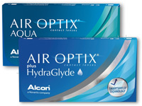Air Optix Aqua versus Air Optix plus HydraGlyde