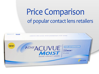 Best Price 1-DAY ACUVUE MOIST for ASTIGMATISM