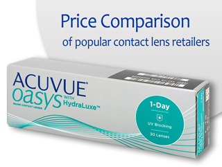 Best Price ACUVUE OASYS 1-DAY WITH HYDRALUXE