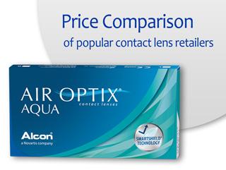 Best Price AIR OPTIX AQUA