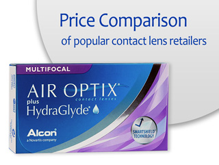 Best Price AIR OPTIX plus HydraGlyde Multifocal