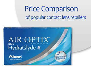 Best Price AIR OPTIX plus HydraGlyde