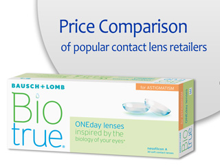 Best Price Biotrue ONEday for Astigmatism
