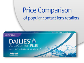 Best Price DAILIES AquaComfort Plus Multifocal