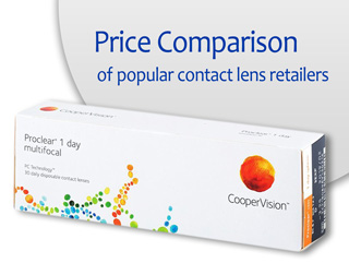 Best Price Proclear 1 day multifocal