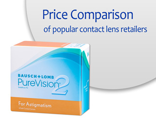 Best Price PureVision2 for Astigmatism