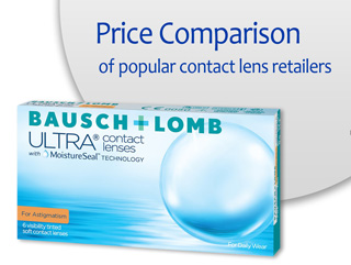 Best Price Bausch + Lomb ULTRA for Astigmatism