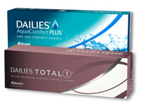 DAILIES TOTAL1 versus Aquacomfort Plus