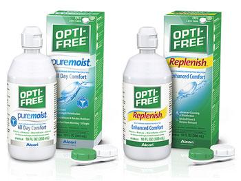 difference between opti free replenish and puremoist