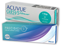 PRECISION1 versus ACUVUE OASYS 1-DAY