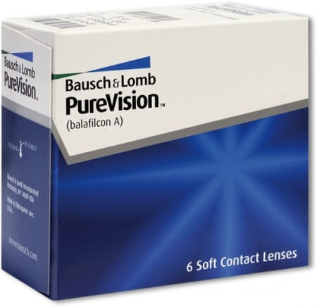 PureVision Brand Contact Lenses