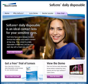 Free Trial Info for SofLens Daily Disposables